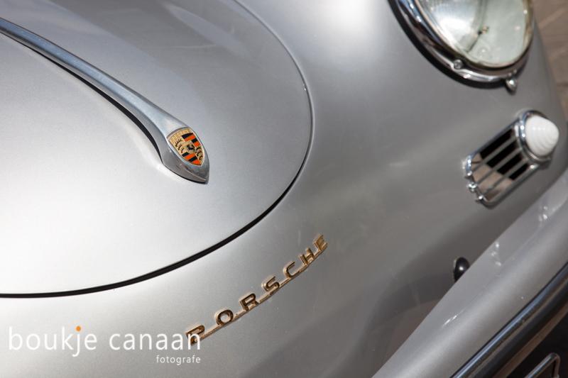 Porsche Speedster 356, detail, close up