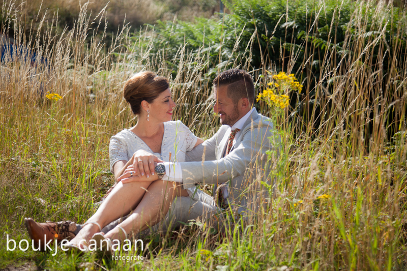 Trouwreportage, trouwfotograaf, love, liefde, buiten